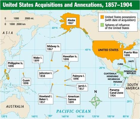 Spanish American War Philippines Map.2015 Tanner Thornton Imperialistic Territories American Cuba En